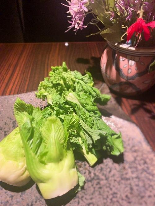 関内の鉄板焼きで春野菜を楽しむ