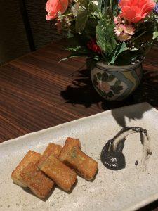横浜関内の鉄板焼き店でお麩の逸品料理を堪能