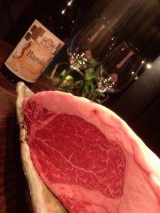 関内の鉄板焼き店「円居」で上質な仙台牛のステーキを堪能