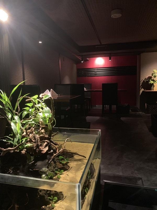 関内の鉄板焼き【円居-MADOy-横浜関内】の上質空間