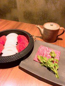 関内で牛すき鍋食べるなら鉄板焼き「円居 横浜関内」
