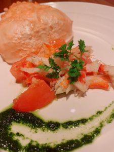 横浜関内でずわい蟹食べるならステーキ店「円居横浜関内店」