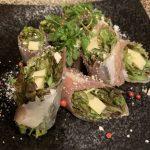 横浜関内の鉄板焼きダイニング【円居】はワインと合わせて楽しめる前菜が豊富