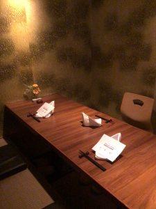 【円居 -MADOy- 横浜関内】のお食事をゆったりと楽しめる個室