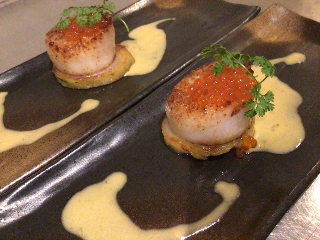最高級黒毛和牛のステーキや最上級の海鮮を鉄板焼きにてご堪能いただける【円居 -MADOy- 横浜関内】